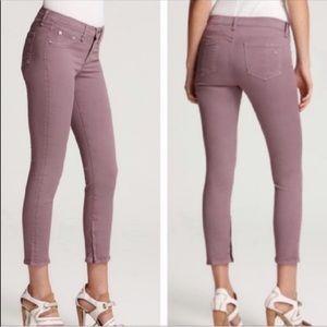 Rag & Bone Denim Zipper Capri Jeans